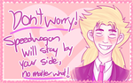 Speedwagon wishes you a belated valentine's day by Akatears