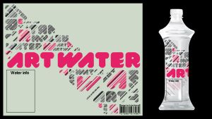 Art Water Typo-O Design by KubiCZECH