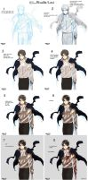 SNK -- Rivaille cellshade coloring by aphin123