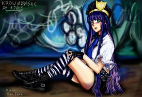 Stocking-poli-sanchan-sexy by krow000666