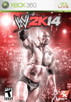 WWE 2K14 Cover Art (Ft. The Rock) *Custom* by StylezFX