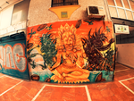 Shiva WEED wall in Torremolinos (Spain) by slukoART