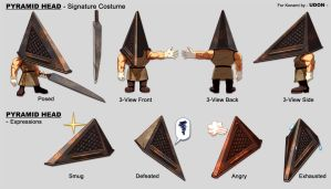 Track + Field- Pyramid Head by UdonCrew