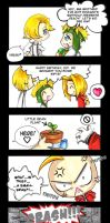 Birthday Gift - FMA Comic by KeyshaKitty