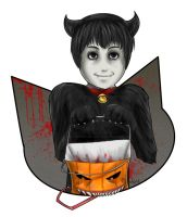 Trick-or-Treat Toshio by NeuroticCrow