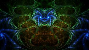 Etheric Spider's Web by Trip-Artist