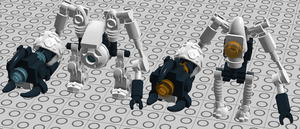 LEGO Digital Portal -- Atlas and P-Body by bonesiii