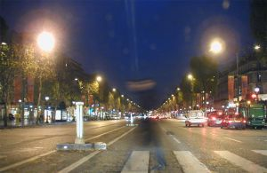 7h15 Ghost ofthe ChampsElysees by iksela
