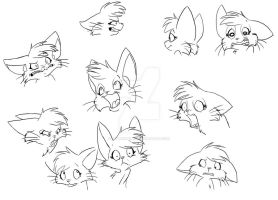 3rd year film: Character expressions by LetterBomb92