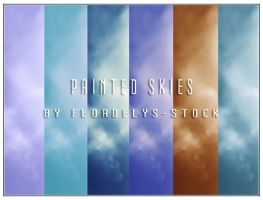 Painted Skies by flordelys-stock