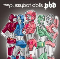the pussybot dolls by kaeae