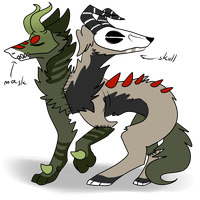 Custom for panicdragon-remix by That-Alcoholic-Cat