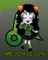 Homestuck: Meulin Leijon by colorchaos
