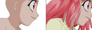 Elfen Lied-Evil Smile Base by TFAfangirl14