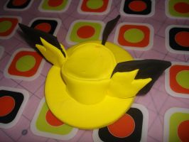 Pichu Top Hat by smallrinilady