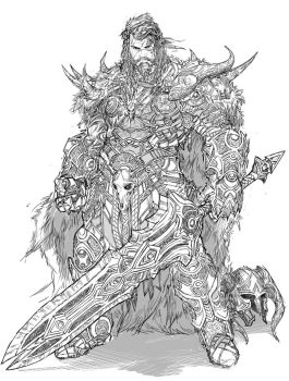 Barbarian Design comm by YamaOrce