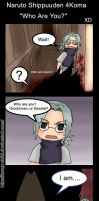Shippuuden 4Koma - Who Are You by Krazy-Chibi