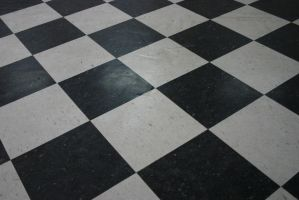 tiled floor stock by destruct-stock