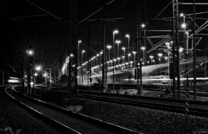 At the station by Luxxs