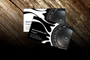 Photographer's bussiness card by petrsimcik