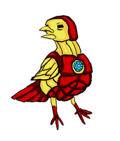 Iron BirdMan. To the Rescue by telephonehome