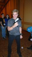 AWA 2013: Vic Mignogna and Kirk's Phaser by galaxy1701d