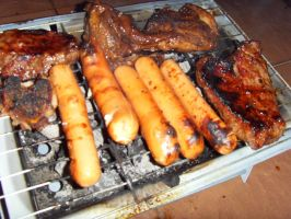 BBQ food by Gexon