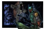 Boba Fett colored by seanforney