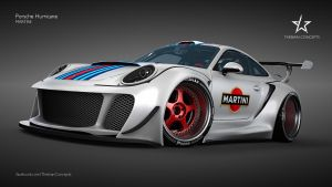 PORSCHE HURRICANE MARTINI by mcmercslr