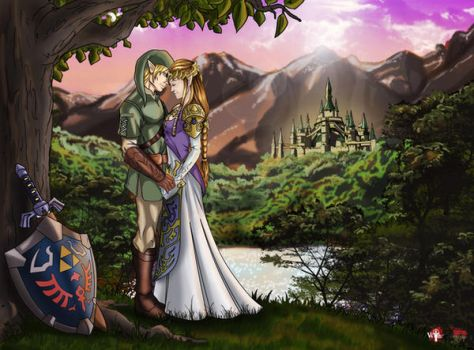 Hyrule Sunset by WiL-Woods