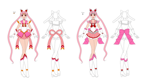 Sailor Moon Concept Art I by The-Devil-Butterfly