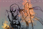 IRON FIST doodle01 by 89g