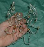 Dew Drop Wire Fairy Wings by silverbeam