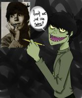 GORILLAZ - Keith Richards and I! by TerminallySuperboy