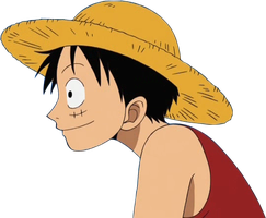Luffy render by AmagyDragon25