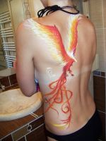 Body art. Phoenix by Cha-23h30