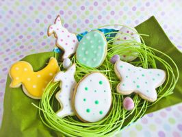 Easter Cookies by dabbisch