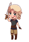 Ellie Chibi by blueoceaneyes101
