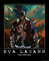 EVA Lagann Poster: Guess Who? by EVALagannCentral