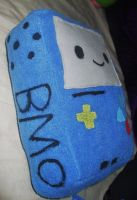 Adventure Time BMO Plushie side view by Number1FMAfangirl