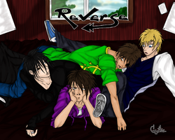 Party Over Guys Color by Gothie666
