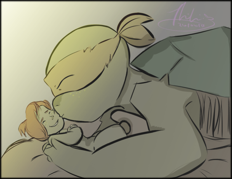 TMNT NEXT GEN: SURPRISE BEAUTIFUL BABY! by Mikibaby94
