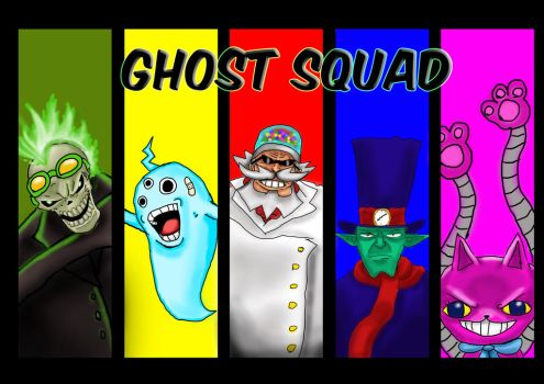 Ghostsquad by Burger-man