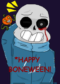 Happy Boneween! by Anskuruu
