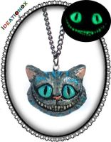 Cheshire Cat OOAK Necklace by Ideationox