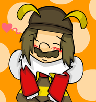 Bee Mario - Well hey there. by PuffyTrousers