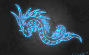Blue Dragon by vvalter