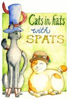 Cats in Hats with Spats by foxysquid