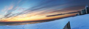 Snowrise Pano by Enkased