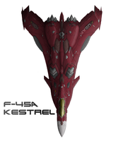 The Red Jet, F-45 recolor by PrinzEugn